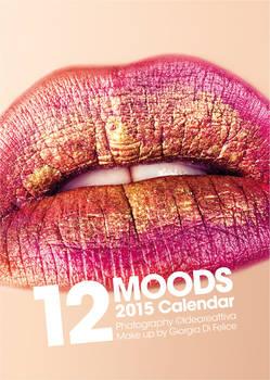 2015 Calendar - 12MOODS - Cover