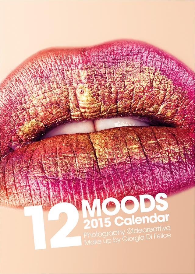 2015 Calendar - 12MOODS - Cover by ideareattiva