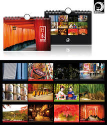 NIHON - Calendar 2016 by ideareattiva