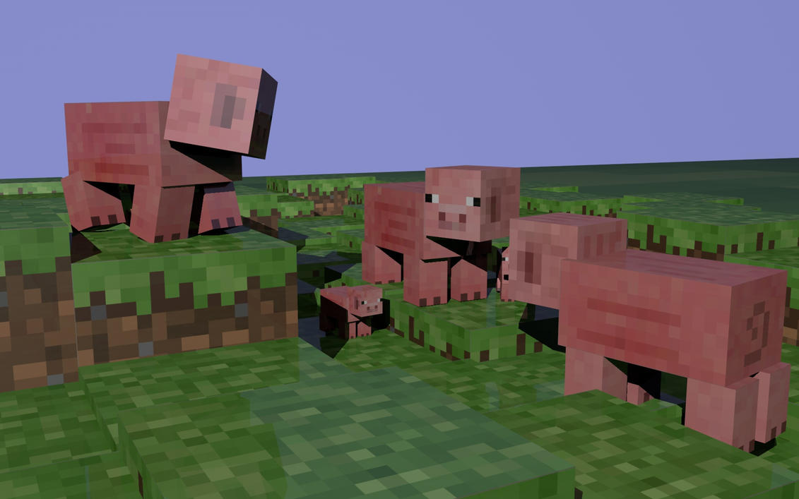 minecraft pig wallpapers download - photo #22