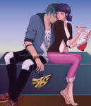 Resting [Lukanette]