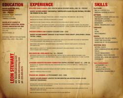 Portfolio Resume by treason3