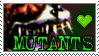 MUTANTS by DeadCatStamps