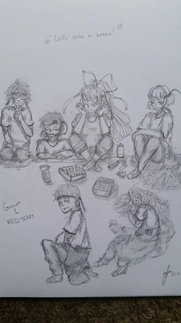 Let's take a break by Tanjin
