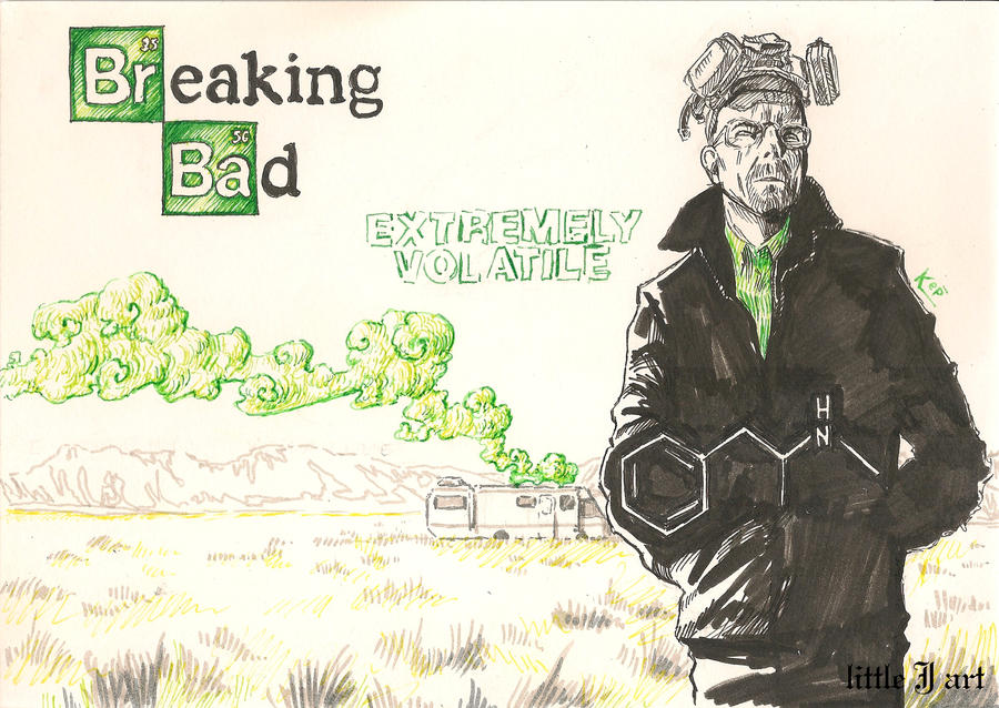breaking bad fan art by queenofcydonia on deviantart