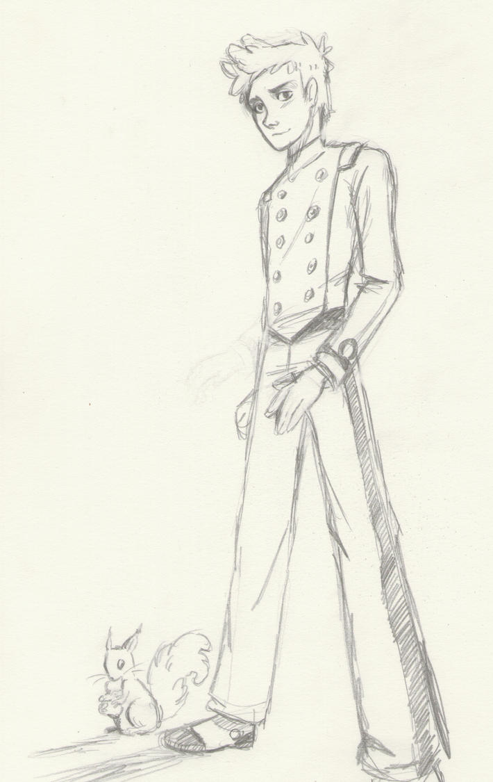 spirou sketch by Queen-of-cydonia