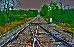 HDR Train Tracks Switcher by DaLeahWeathers