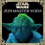Yoda Text Portrait by DaLeahWeathers