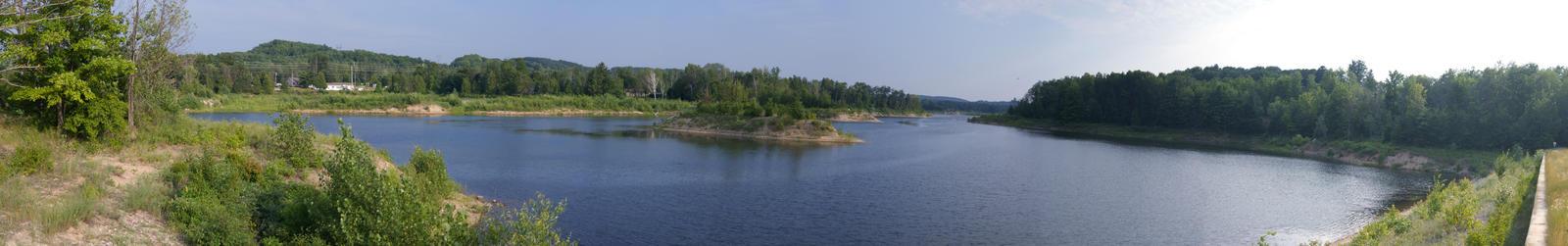 Boardman Pond Panorama by DaLeahWeathers