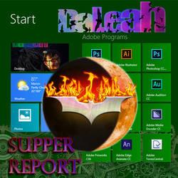 DaLeah Supper Report Dark Knight