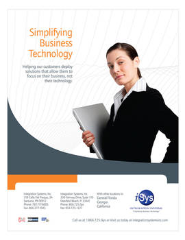 Integration Systems Ad