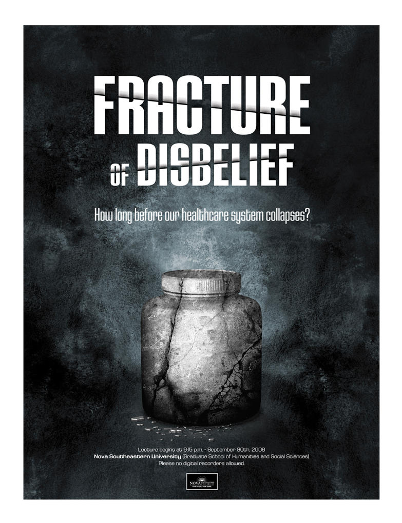 Fracture of Disbelief by submicron
