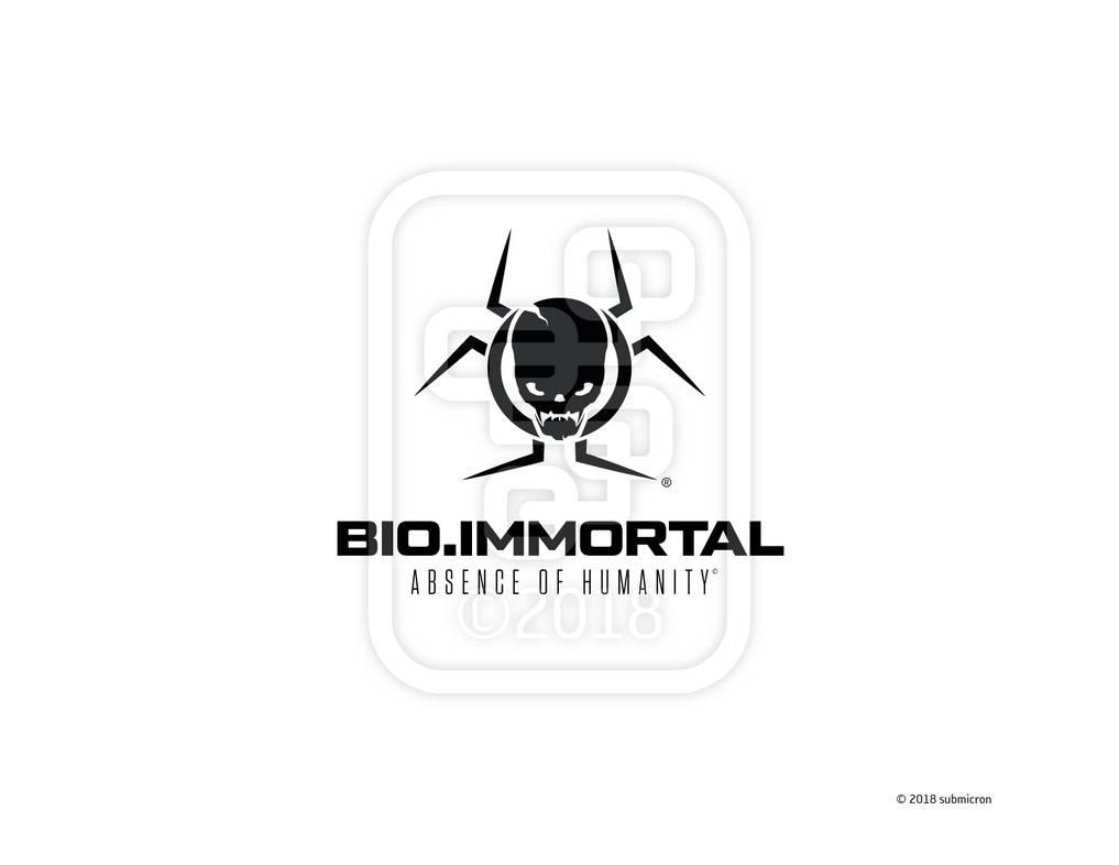Bio.Immortal logo by submicron