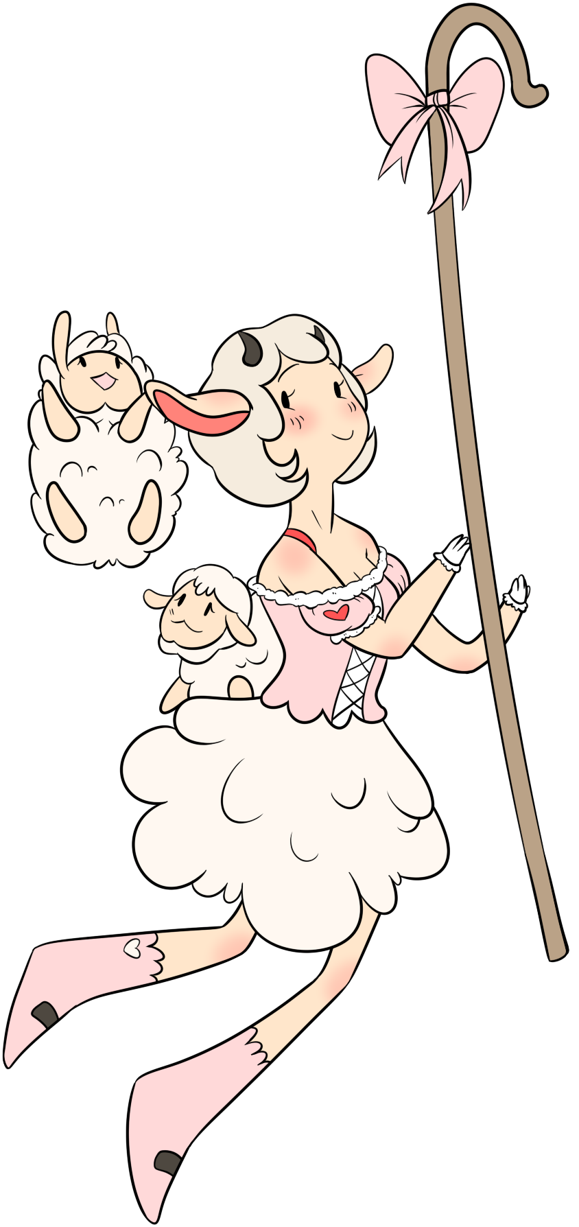 Sheep Princess Fanart by TheCupcake-Queen