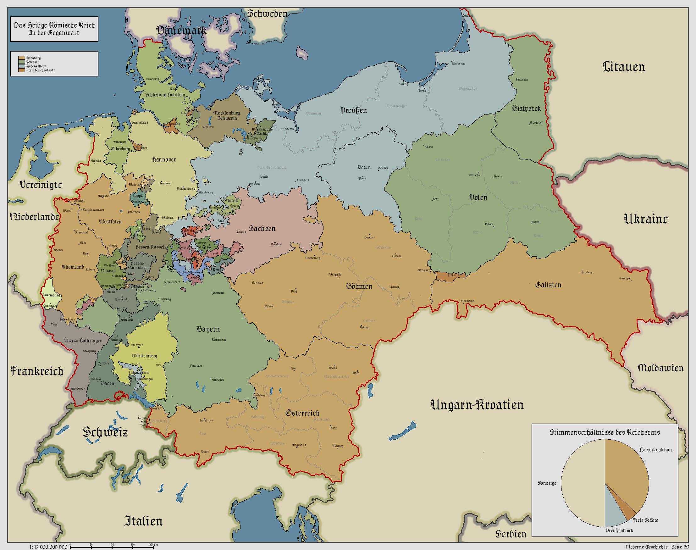 Holy Roman Empire World Map Holy Roman Empire by Schmitzky