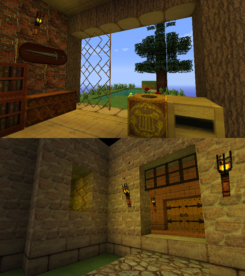 Medieval 64x Texture Pack For Minecraft By Foxfire Kadrpg