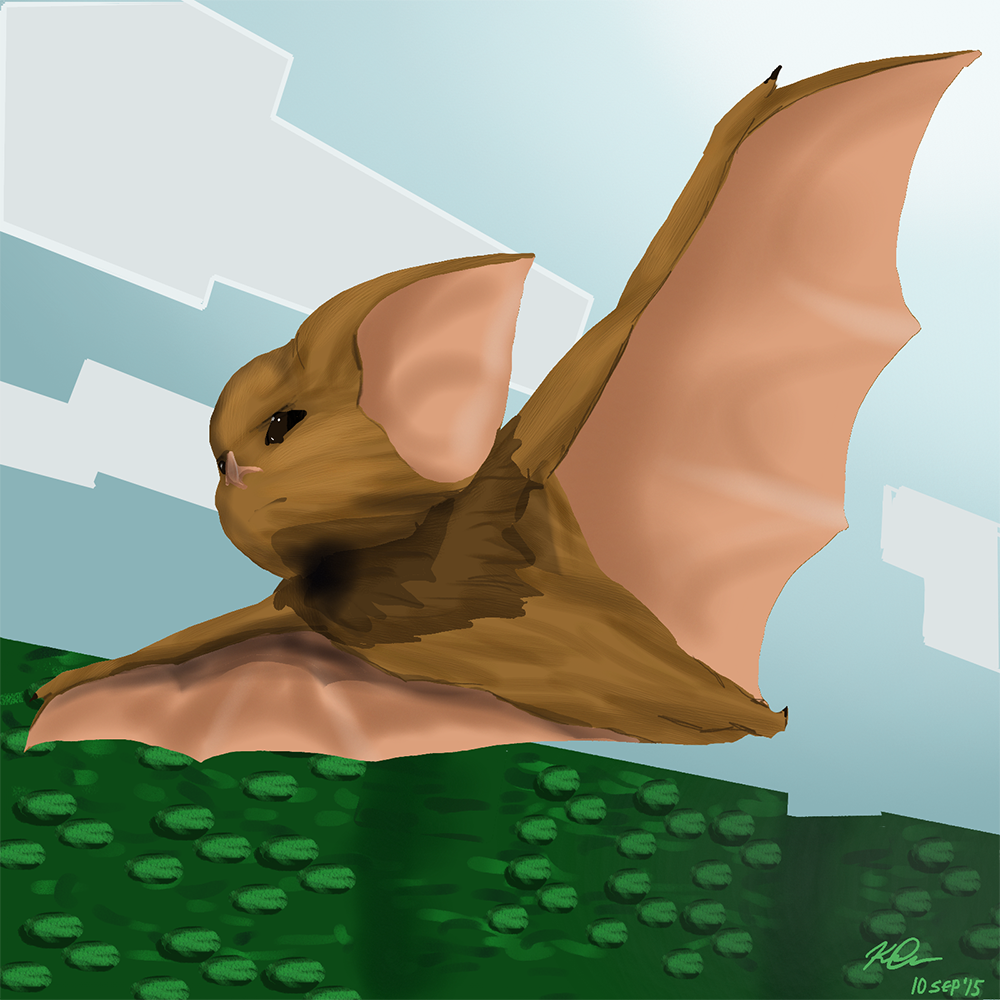 Level Two Hardened Bat by Foxfire-kadrpg