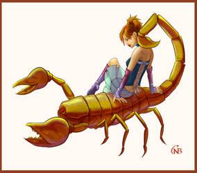 Scorpio by Ariegn