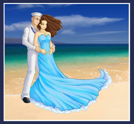 Navy Couple by Ariegn