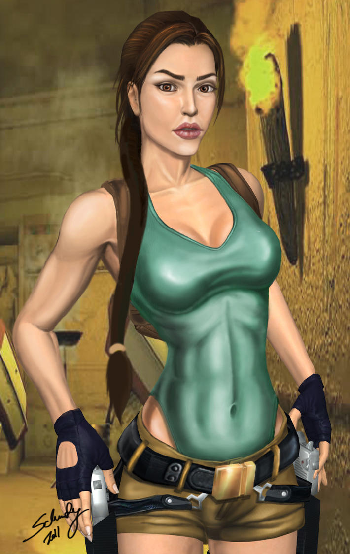 Lara - Progress by Schuty