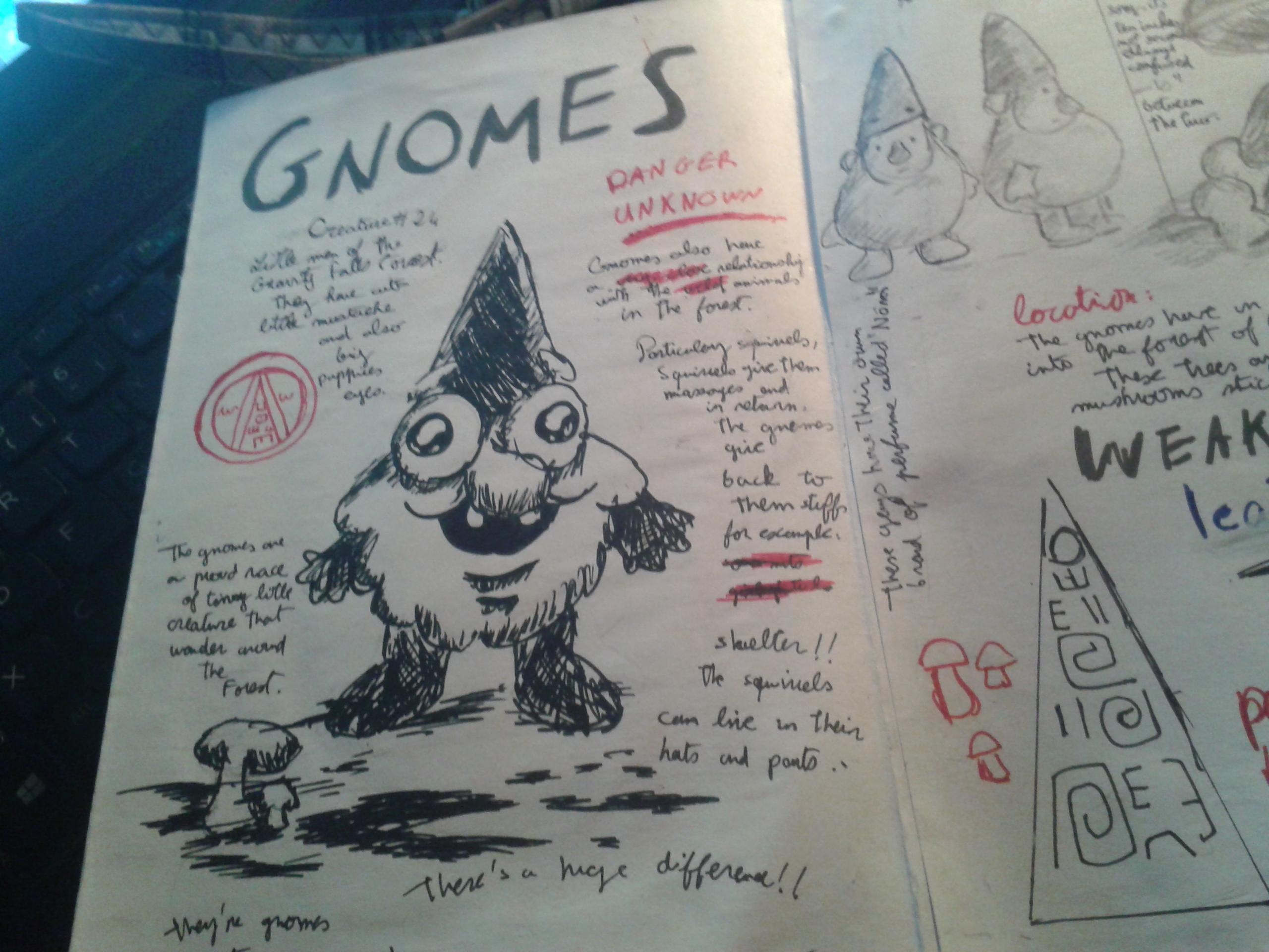 Fantastic Gravity Falls - Journal 3 Progress by FeryelDell on DeviantArt KL09