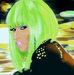 Nicki Minaj -Black Men Mag