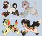 rainbow adopts - flatsale (CLOSED)