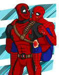 COMMISH- Deadpool_Spider-Man