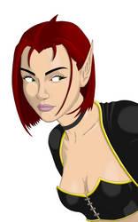 Kyra De'Syr (Rogue, coloured)