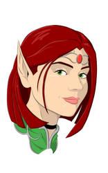 Kyra De'Syr (no background)