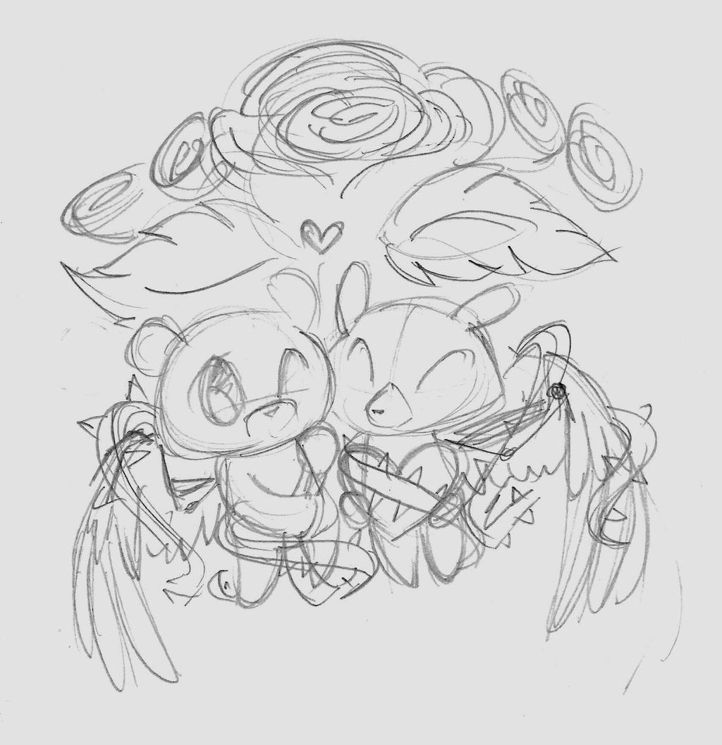 Original Valentine idea by Winged-Dragoness