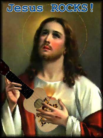 Jesus ROCKS by 3rd-dimension