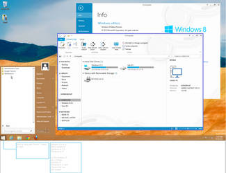 Windows 8.5/ 9 Concept of the Desktop by tmpcox