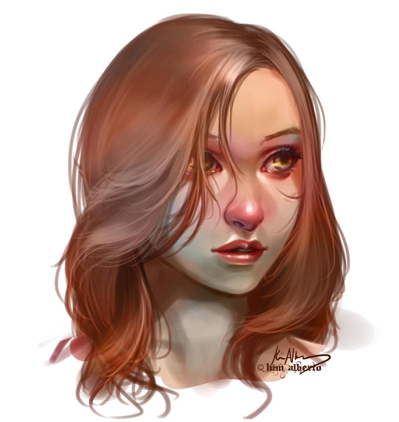 COMMISSION: Riveda Headshot by SavilleHyde
