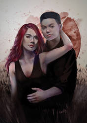 Mariel and Jay Portrait