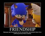 Sonic Demotivational: Beginning's Of Friendship