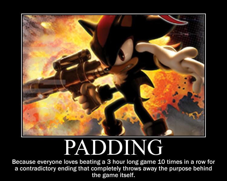 Sonic demotivational: Bad Game Design by MrNeedleMouse00
