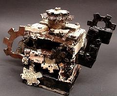 Steampunk teapot by Mind-On-Autopilot