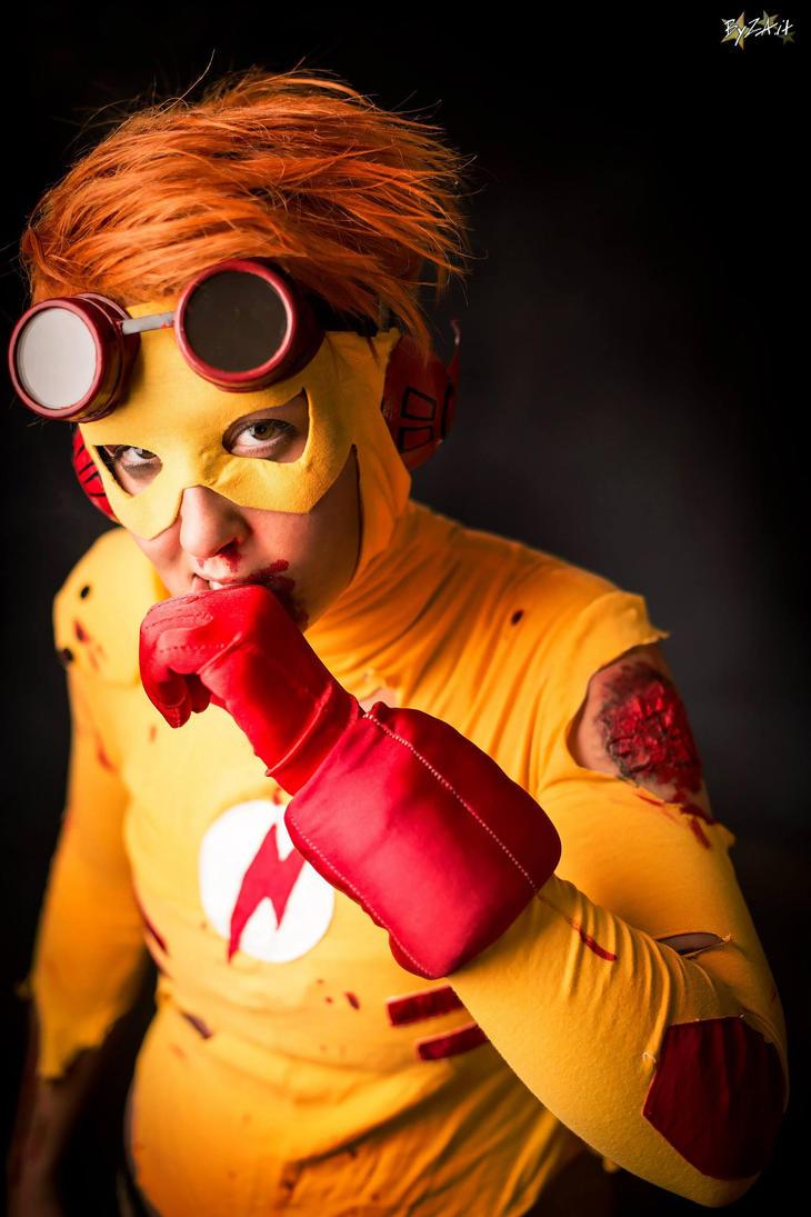 Kid Flash: Are you okay, dude? by Gixye