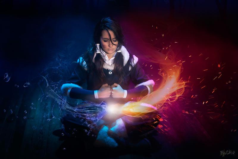 Meditation_Korra by Gixye