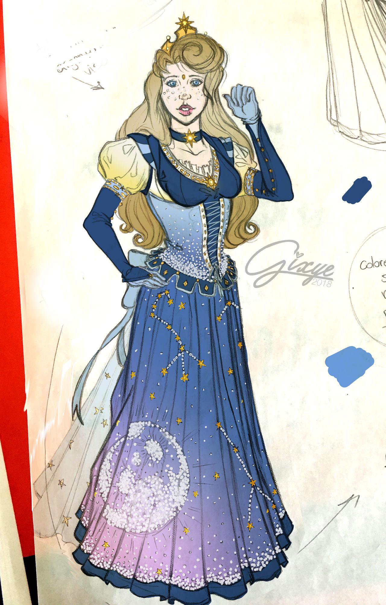 Celestial Disney Princess_Aurora