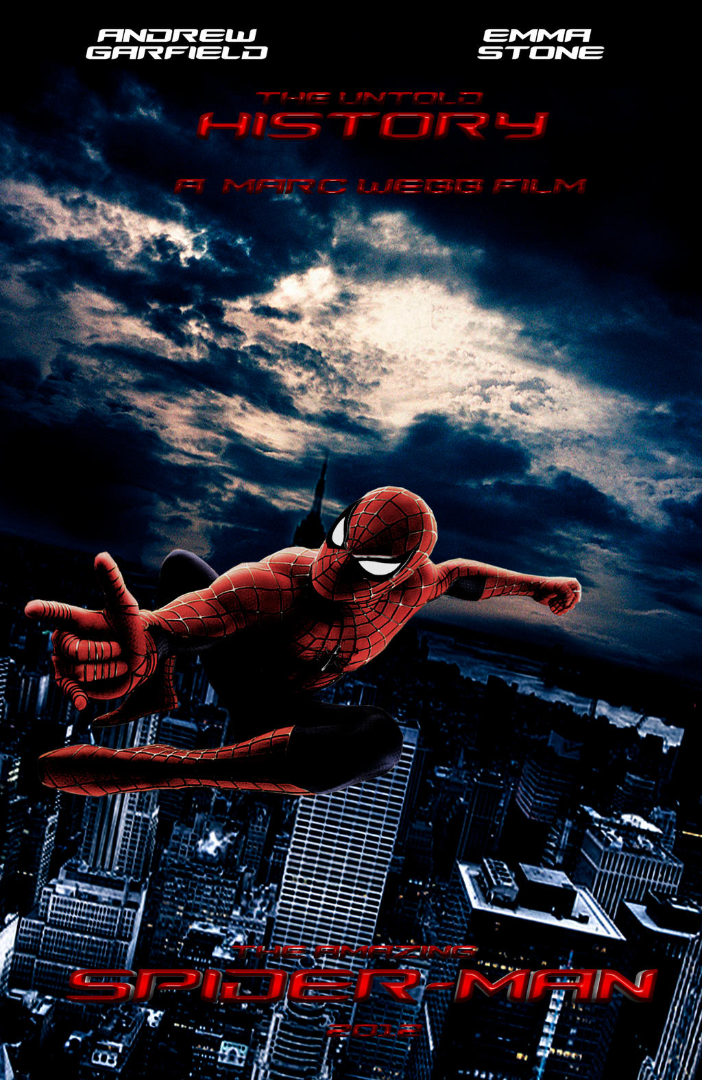 The Amazing Spider Man Poster Official