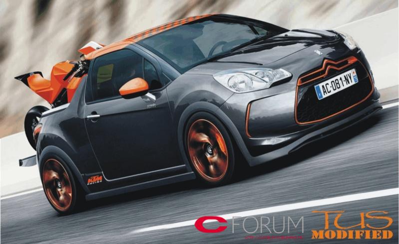 photoshop of citroen ds3 racing pick up by c forum on deviantart. Black Bedroom Furniture Sets. Home Design Ideas
