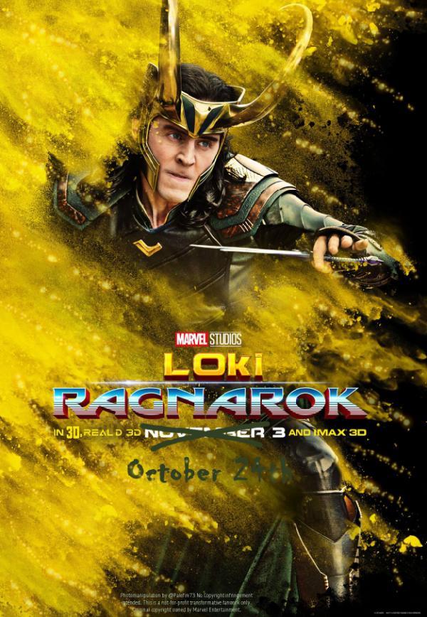 Loki: Ragnarok by palefire73