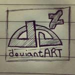 DeviantArt Logo Sketch by DRSDavidSoft