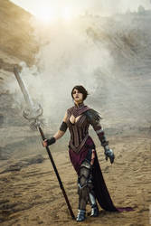 Dragon Age II - Morrigan cosplay by senedy