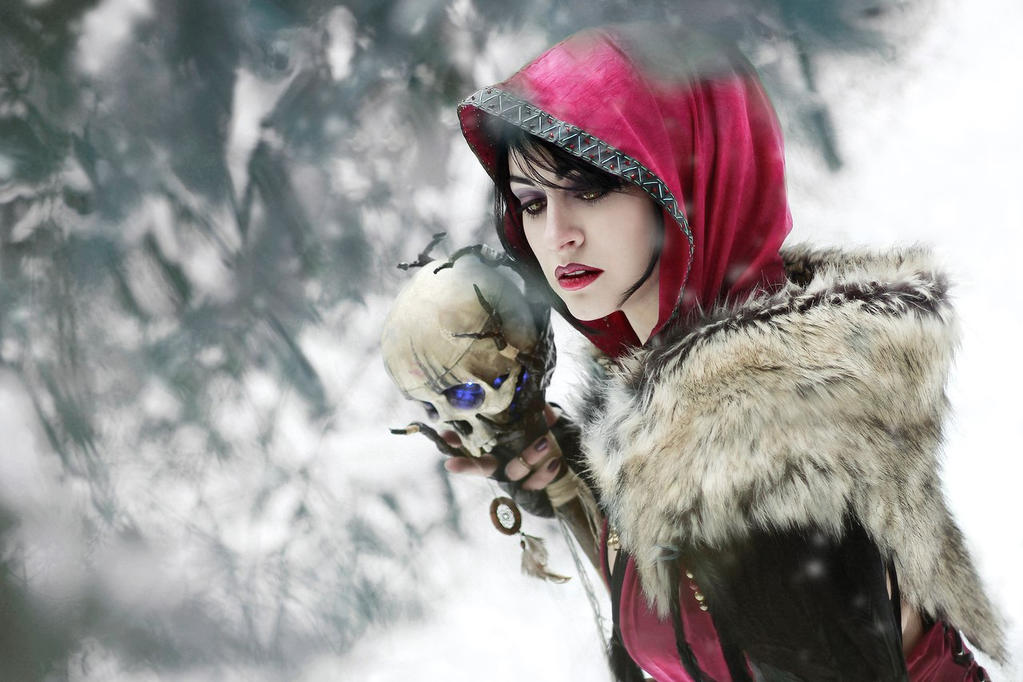 Dragon Age Morrigan by senedy