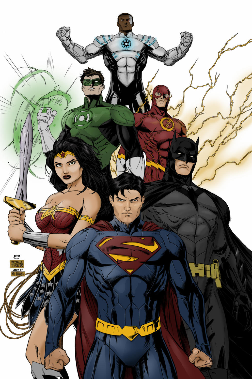 Justice League Coloring by KkFranca on DeviantArt