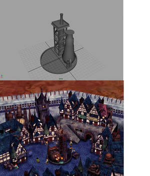 Kalm Project: Scene 1 Fountain