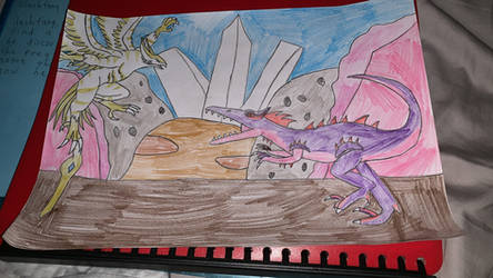 Primal Rage Albion vs Eclipso by DrcDinoboygaming